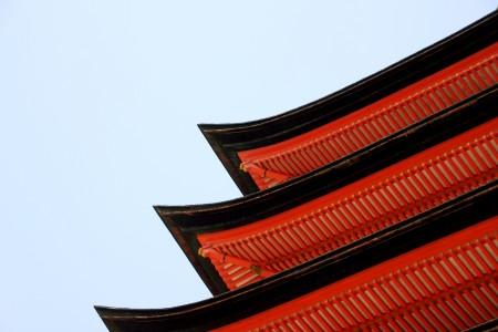 豊国神社本殿隣りの五重塔。